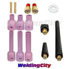 "TIG Welding Gas Lens Accessory Kit (3/32"") for Torch 9/20/25 T40A 