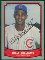 Original Autograph of Billy Williams HOF of the Chicago Cubs on a 1989 Pacific