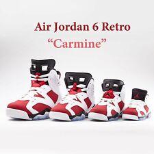Nike Air Jordan 6 Retro carmín 2021 VI Zapatos Tenis Familia AJ6 Pick 1