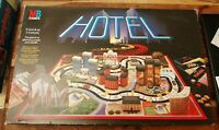 VINTAGE HOTEL GAME NOT COMPLETE SPARES ONLY MB GAMES 1986 LOVELY CONDITION