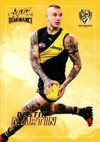 ✺New✺ 2020 RICHMOND TIGERS AFL Premiers Card DUSTIN MARTIN Dominance