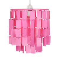 NEW Modern Girls Bedroom Pink Ceiling Light Shade Pendant Chandelier Lampshade