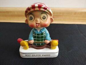 Capri Collection best golfer award made in Japan ceramic bobblehead