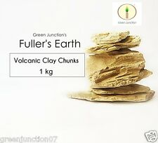 GJ's Multani Mitti (Fuller's Earth) Volcanic Clay Chunks -1kg (Purest Form )