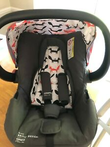 Cosatto Hold Mix Mister Fox Car Seat, great condition, can click into pram