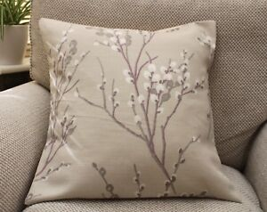 LAURA ASHLEY PUSSY WILLOW NATURAL CUSHION COVERS  VARIOUS SIZES