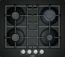 BOSCH PNP6B6B90- 60 cm Gas Kitchen hob, Tempered black glass