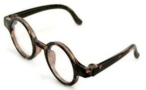 """Tortoise Frame Glasses fits 14.5"""" American Girl Wellie Wishers Doll Clothes"""