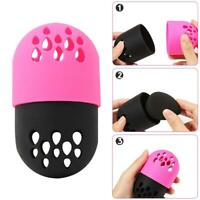 Makeup Sponge Puff Silicone Storage Box Travel Case Breathable Puff Holder