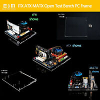 PC Test Bench Open Case DIY Mini ITX MATX ATX Bare Frame Support Graphics Card