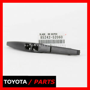 FACTORY LEXUS CT200H 11-17 TOYOTA SCION XD 08-14 REAR WIPER BLADE 8524252060 OEM