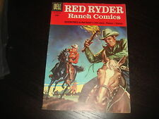 RED RYDER RANCH COMICS #150 Western Cowboy  Silver Age Dell Comics 1957  VFN-