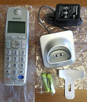 GENUINE PANASONIC KX-TGEA20 S EXPANSION CORDLESS HANDSET SILVER - NEW