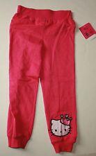 Nuevo Hello Kitty princesa rosa punto pantalones talla 5 Year NUEVO CON ETIQUETA