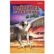 Animales del desierto en peligro (Endangered Animals of the Desert) (T-ExLibrary