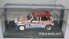 TEAM SLOT 12107 RENAULT 5 MAXITURBO #6 FUOYA RALLY CROS MB