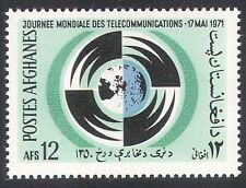 Afghanistan 1971 Telecommunications/Radio/Communications 1v (n28249)
