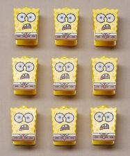 x9 NEW Lego 4981 SpongeBob HEAD BODY Minifig Minifigure Guy PART Shocked Look