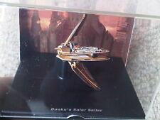 Star Wars Dooku's Solar velero modelo Lucasfilms Ltd