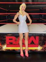 RARE WWE LANA MATTEL BASIC 75 SERIES WRESTLING ACTION FIGURE