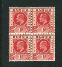2 Block Width British Colonies & Territories Stamp Blocks