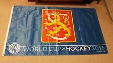 2016 WORLD CUP OF HOCKEY TORONTO CANADA FLAG BANNER 5' x 3 ' FEET FINLAND GREAT