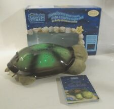 CLOUD B TWILIGHT TURTLE CONSTELLATION PLUSH NIGHT LIGHT PROJECTOR GREEN W BOX LN