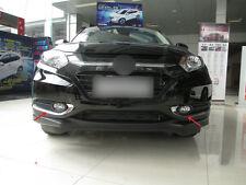 For Honda HR-V Vezel 2015 2016 Chrome Front Fog Light Eyelid Cover Strips Trim