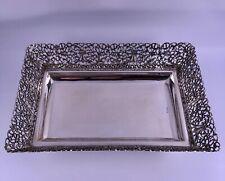 925 Sterling Silber Anbietschale Silberschale 324 Gramm
