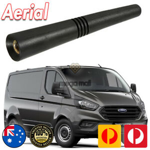 Antenna / Aerial Stubby Bee Sting for Ford Transit Custom Black Flexi Rubber 8CM