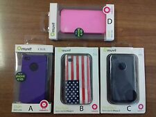 MUVIT SILICON CASE BACK CASE CUSTODIA COVER PER APPLE IPHONE 4 e 4S
