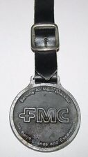 Vintage Link Belt Crane & Excavator FMC Pocket Watch Fob & Strap Construction