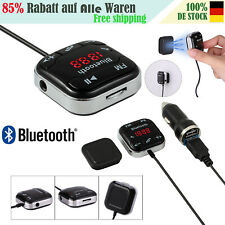 Freisprechanlage Bluetooth FM Transmitter Auto MP3 Player LCD USB SD AUX Magnet