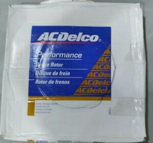 ACDelco Performance Front Disc Brake Rotor ~ 18A2652PV