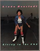 LINDA RONSTADT 1978 LIVING IN THE USA TOUR CONCERT PROGRAM BOOK / NMT 2 MINT