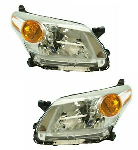 SCION XD 2008 2009 2010 2011 RIGHT LEFT HEADLIGHTS HEAD LAMPS FRONT LIGHTS PAIR