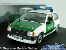OPEL CORSA POLIZEI POLICE MODEL CAR 1:43 SCALE WHITE/GREEN IXO VAUXHALL NOVA K8