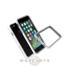 Apple iPhone X Rhino Shield Crash Guard Bumper - White Case Cover Shell