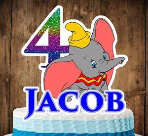 Dumbo Cake Topper