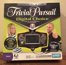 Trivial Pursuit Digital Choice Board Game with USB New in Box