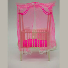 Sweet Baby Crib For Barbie Doll Furniture Kelly Doll's Baby Doll Accessories