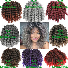 Curly Jumpy Wand Curly Twist Crochet Braid 8 Inch 80g Synthetic Hair Extensions