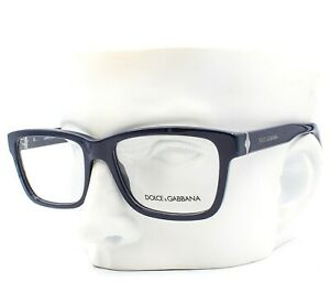 Dolce Gabbana DG 3130 2594 Eyeglasses Frames Navy Blue 55-17-140 Display