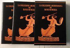 Aa Vv, LA COLLEZIONE ARCHEOLOGICA DEL BANCO DI SICILIA 2 vv, Edizioni Guida,1992