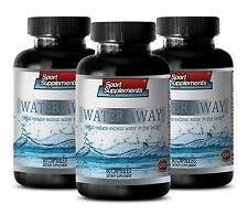 Lower Blood Pressure - Water Away Pills 700mg -100% Natural Blend of Minerals 3B