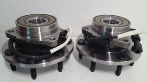 2 New Hub Bearings PAIR Fits F150 Heritage F250 4WD ABS 7 LUG  515030