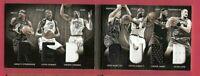 LEBRON JAMES KEVIN DURANT LOVE GARNETT DIRK NOWITZKI 7 GU JERSEY BOOKLET CARD #d