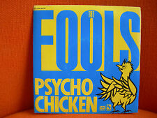 VINYL 45 T – THE FOOLS : PSYCHO CHICKEN – PARODIE TALKING HEADS PARODY – 1980