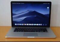 Macbook pro Retina 15 Quad Core i7 2.3  512 SSD 16 GB Office Logic X FCP X