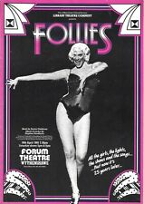 "Josephine Blake ""FOLLIES"" Kevin Colson / Sondheim 1985 European Premiere Program"